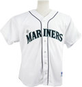 Autographs:Jerseys, Alex Rodriguez Signed Seattle Mariners Jersey. From the era whenSeattle could call players such as Ken Griffey, Randy John...