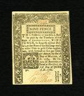 Colonial Notes:Connecticut, Connecticut June 1, 1780 Criss Cross Cancel 9d Choice New. 95% ofthe notes of the 1780's issues have hold cancellation but ...
