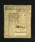 Colonial Notes:Delaware, Delaware January 1, 1776 20s Choice New. The edges are outside theframe line on the face of this note that has three bold s...