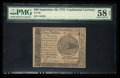 Colonial Notes:Continental Congress Issues, Continental Currency September 26, 1778 $60 PMG Choice About Unc 58EPQ.. ...
