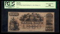 Obsoletes By State:Louisiana, New Orleans, LA- Canal Bank $1000 G80a. ...