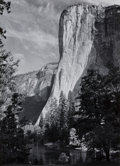 Photographs:20th Century, ANSEL ADAMS (American, 1902-1984). El Capitan, 1952. Gelatinsilver, before 1970. 9-1/4 x 6-7/8 inches (23.5 x 17.4 cm)...