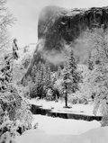 Photographs:20th Century, ANSEL ADAMS (American, 1902-1984). El Capitan Winter, 1950.Gelatin silver, before 1970. 9-1/4 x 7 inches (23.5 x 17.8 c...