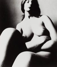 BILL BRANDT (British, 1904-1983) London, 1956 (Nude), 1956 Gelatin silver, before 1975 13-3/8 x 1