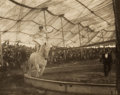 Photographs:20th Century, HARRY C. RUBINCAM (American, 1871-1940). In the Circus,1905. Vintage photogravure. 6 x 7-3/4 inches (15.2 x 19.7 cm). ...