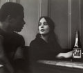Photographs, IMOGEN CUNNINGHAM (American, 1883-1976). Coffee Gallery (Linda Lovely), 1960. Gelatin silver, before 1971. 9-1/2 x 11 in...