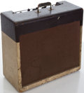 Musical Instruments:Amplifiers, PA, & Effects, Circa 1957 Gibson GA-40 Two-Tone Guitar Amplifier, #55142....