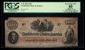 Confederate Notes:1862 Issues, T41 $100 1862 PF-51 Cr. 325.. ...