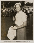 Autographs:Others, Circa 1950 Babe (Didrikson) Zaharias Signed Photograph....