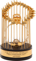 Baseball Collectibles:Others, 1981 Los Angeles Dodgers World Championship Trophy Presented toJerry Doggett....