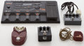 Musical Instruments:Amplifiers, PA, & Effects, Effect Pedal Lot: MXR, Shure, Danelectro, ProCo, Roland Synth...