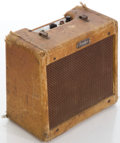 Musical Instruments:Amplifiers, PA, & Effects, Circa 1956 Fender Champ Tweed Guitar Amplifier, #C-03373....