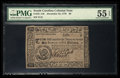Colonial Notes:South Carolina, South Carolina December 23, 1776 $6 PMG About Uncirculated 55 EPQ.....