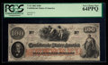 Confederate Notes:1862 Issues, T41 $100 1862. PF-6 Cr. 315.. ...
