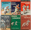 Books:Children's Books, Wilfred McCormick. ONE VOLUME INSCRIBED. Lot of Six Bronc BurnettBaseball or Football Novels. Including: Flying Tackle,...(Total: 6 Items)