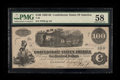 Confederate Notes:1862 Issues, T40 $100 1862 PF-5 Cr. 300.. ...
