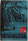 Books:Mystery & Detective Fiction, Brad Meltzer. SIGNED. The First Counsel. New York: WarnerBooks, 2001. First edition. Signed by the author on ...
