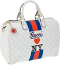 Luxury Accessories:Bags, Gucci Limited Edition Gucci Loves New York Bag with Charm. ...