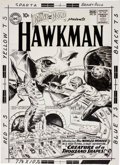Original Comic Art:Covers, Joe Kubert The Brave and the Bold #34 The LandmarkFirst Silver Age Hawkman Cover Original Art (DC, 19...