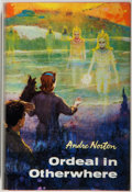 Books:Science Fiction & Fantasy, [Jerry Weist]. Andre Norton. SIGNED. Ordeal in Otherwhere. Cleveland: World Publishing, [1964]. First edition, first...