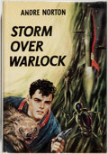 Books:Science Fiction & Fantasy, [Jerry Weist]. Andre Norton. SIGNED. Storm Over Warlock.Cleveland: World Publishing, [1960]. First edition, first p...