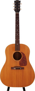Musical Instruments:Acoustic Guitars, 1952 Gibson J-50 Natural Acoustic Guitar, Serial # Z1711....