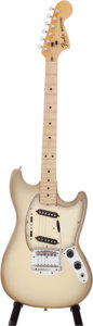 Musical Instruments:Electric Guitars, 1978 Fender Mustang Antigua Solid Body Electric Guitar, Serial # S820703....