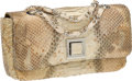 Luxury Accessories:Bags, Paola Bentini Python Purse. ...