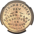 Civil War Merchants, 1864 Lapham & Thayer, Detroit, MI, F-225AS-3d, R.9, MS65NGC....