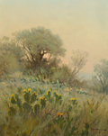 Paintings, G. (GERALD HARVEY JONES) HARVEY (American, b. 1933). Sunrise Landscape. Oil on canvas. 20 x 16 inches (50.8 x 40.6 cm). ...