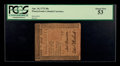 Colonial Notes:Pennsylvania, Pennsylvania April 10, 1775 50s PCGS About New 53.. ...