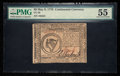 Colonial Notes:Continental Congress Issues, Continental Currency May 9, 1776 $8 PMG About Uncirculated 55.. ...