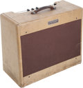 Musical Instruments:Amplifiers, PA, & Effects, 1953 Fender Super Tweed Guitar Amplifier, Serial # 3944...