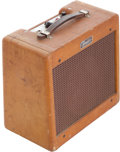 Musical Instruments:Amplifiers, PA, & Effects, 1959 Fender Champ Tweed Guitar Amplifier, Serial # C11804...