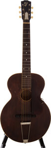 Musical Instruments:Acoustic Guitars, 1924 Gibson L-1 Brown Stain Archtop Acoustic Guitar, #72765....