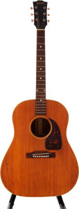 Musical Instruments:Acoustic Guitars, 1954 Gibson J-50 Natural Acoustic Guitar, Serial # X7910....