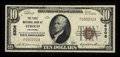 National Bank Notes:Oklahoma, Stroud, OK - $10 1929 Ty. 1 The First NB Ch. # 6306. ...