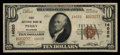 National Bank Notes:Oklahoma, Perry, OK - $10 1929 Ty. 2 First NB Ch. # 14020. ...
