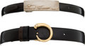 Luxury Accessories:Accessories, Set of two; Cartier Belts. ... (Total: 3 Items)