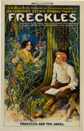 Memorabilia:Poster, Freckles Stage Play Roadshow Poster (Otis Lithograph Co.,1912)....