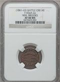 (1861-65) Wm. Brooks, Elkhart, IN, F-260A-2a, R.8 XF40 NGC. The Fuld revision currently in progress will list this piece...