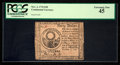 Colonial Notes:Continental Congress Issues, Continental Currency November 2, 1776 $30 PCGS Extremely Fine 45.....