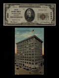 National Bank Notes:Kentucky, Paducah, KY - $20 1929 Ty. 1 The City NB Ch. # 2093. ... (Total: 2items)