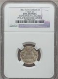 Civil War Merchants, 1863 Philip Bach, Ann Arbor, MI, F-40A-2c, R.9 - Improperly Cleaned- NGC Details. Unc.. Purchased from James Kelly (5/7/1...