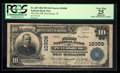 National Bank Notes:Tennessee, Petersburg, TN - $10 1902 Plain Back Fr. 629 The First NB Ch. #10306. ...