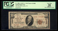 National Bank Notes:Tennessee, Loudon, TN - $10 1929 Ty. 2 The First NB Ch. # 12080. ...