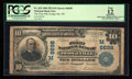 National Bank Notes:Wisconsin, Dodgeville, WI - $10 1902 Plain Back Fr. 624 The First NB Ch. # (M)6698. ...
