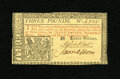 Colonial Notes:New Jersey, New Jersey February 20, 1776 £3 Choice New. This is only the fifthuncirculated note that we have sold from this scarcer Fe...