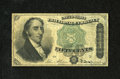 Fr. 1379 50c Fourth Issue Dexter Very Good-Fine. An approximate half-inch edge tear is noticed