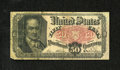 Fractional Currency:Fifth Issue, Fr. 1381 50c Fifth Issue Fine. A couple of pinholes are noticed....